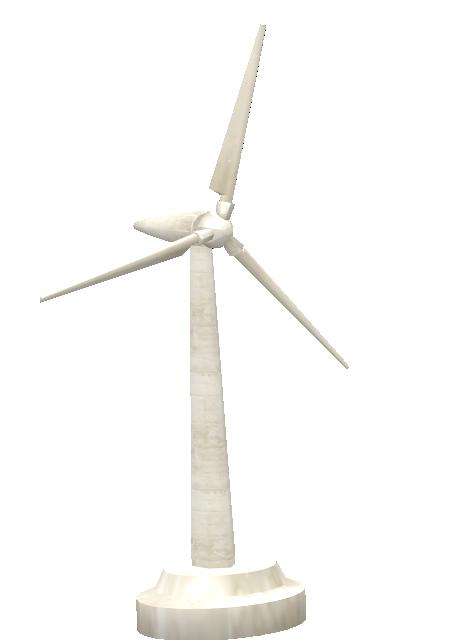 Mini Wind Turbine for Euro Truck Simulator 2.