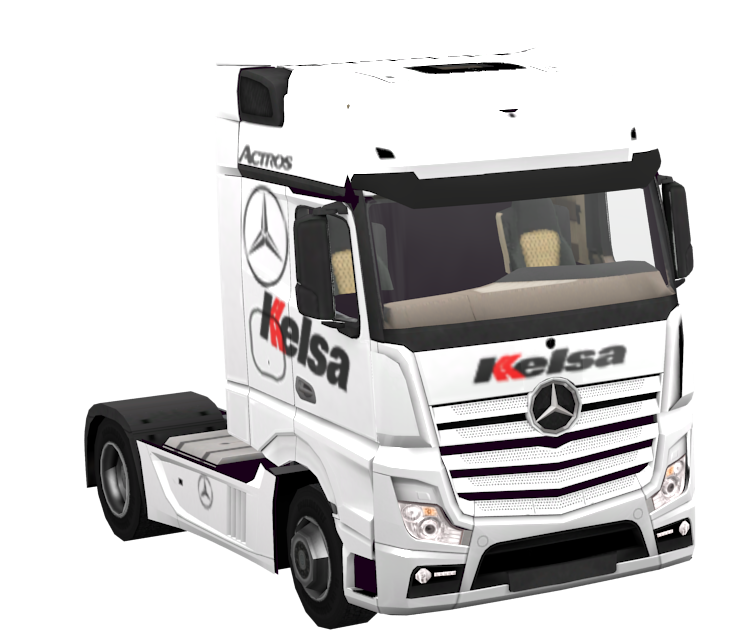 Mercedes Actros 2014 Toy for Euro Truck Simulator 2.