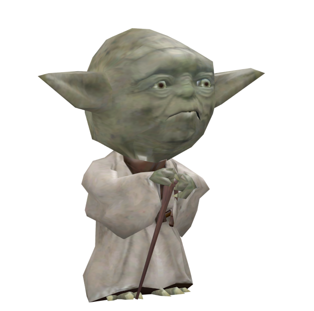Yoda Bobblehead for Euro Truck Simulator 2.