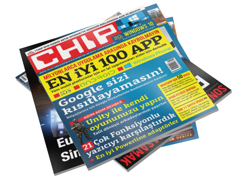 Magazines - CHIP (Dergiler - CHIP) for Euro Truck Simulator 2.