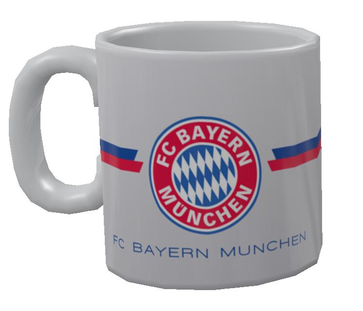 Mug - Bayern München (Kupa - Bayern München) for Euro Truck Simulator 2.