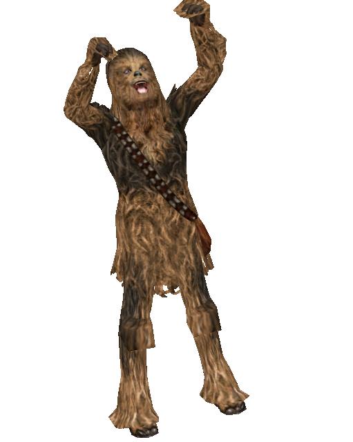 Chewbacca 2 - Statuette (Chewbacca 2 - Biblo) for Euro Truck Simulator 2.