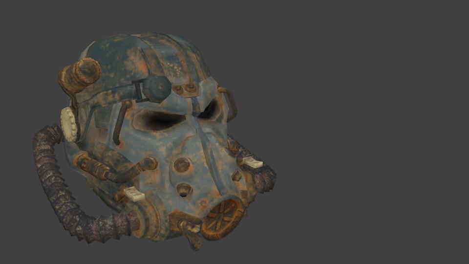 Fallout - T60 Helmet for Euro Truck Simulator 2.
