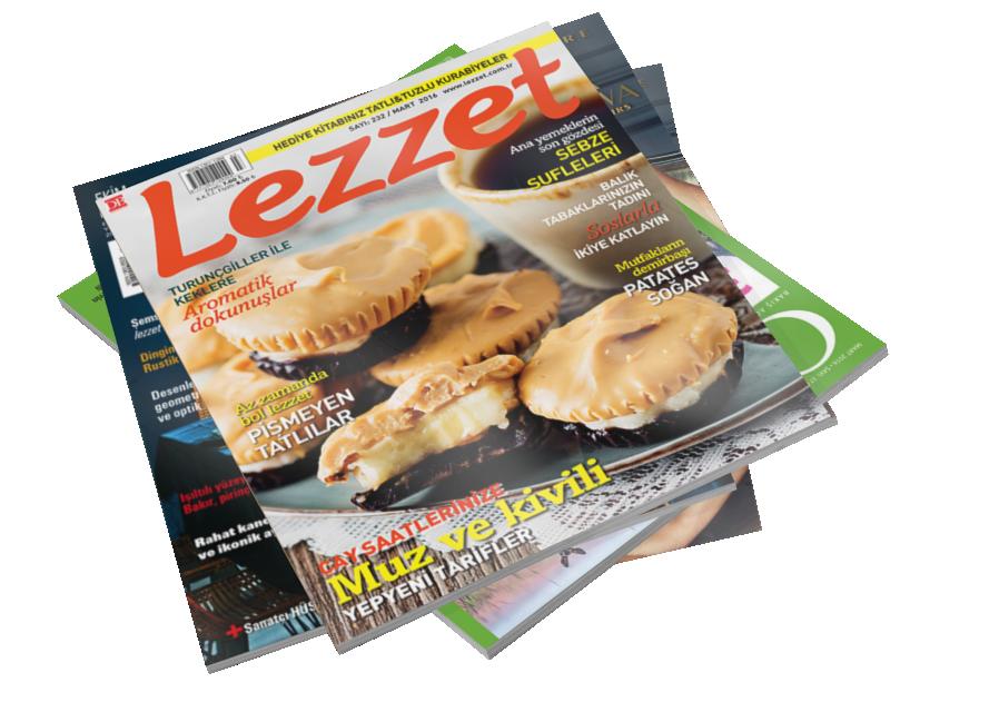 Magazines - Lezzet (Dergiler - Lezzet) for Euro Truck Simulator 2.