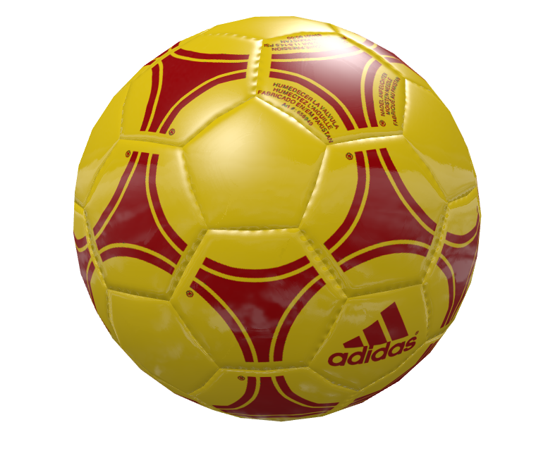 Knob: Football - Yellow Red (Knob: Football - Yellow Kırmızı) for Euro Truck Simulator 2.
