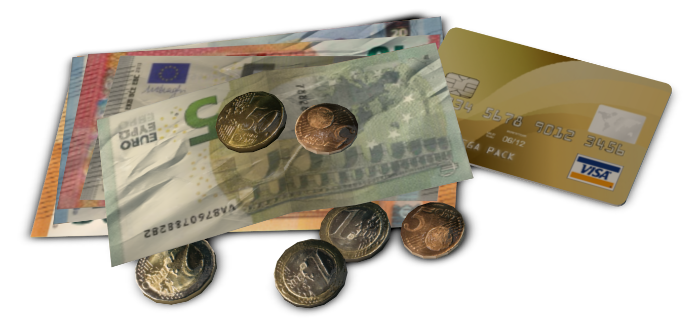 Coins and Notes (EUR) (Bozukluk (EUR)) for Euro Truck Simulator 2.