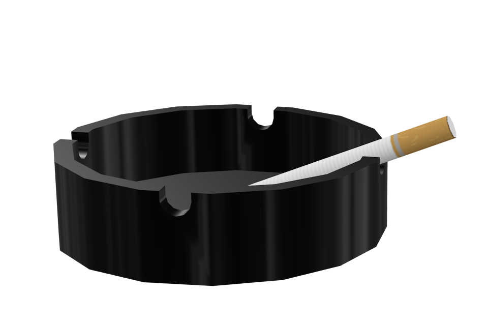Ashtray - Black (Ashtray - Siyah) for Euro Truck Simulator 2.