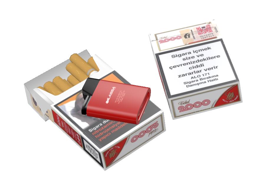 Cigarette - Tekel 2000 (Sigara - Tekel 2000) for Euro Truck Simulator 2.