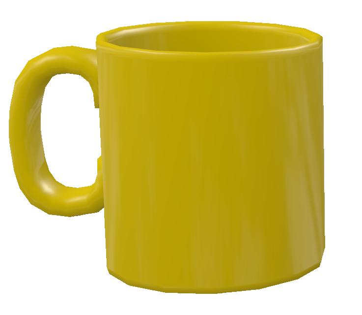 Color Mug - Yellow (Renkli Kupa - Sarı) for Euro Truck Simulator 2.