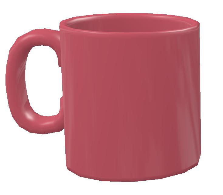 Color Mug - Rose (Renkli Kupa - Gül Rengi) for Euro Truck Simulator 2.