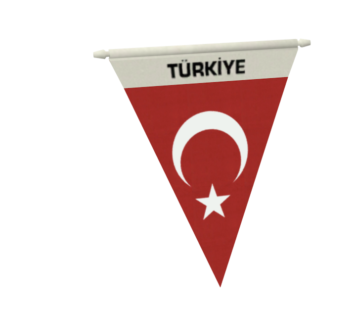 My Flag (Customizable) (My Bayrak (Customizable)) for Euro Truck Simulator 2.