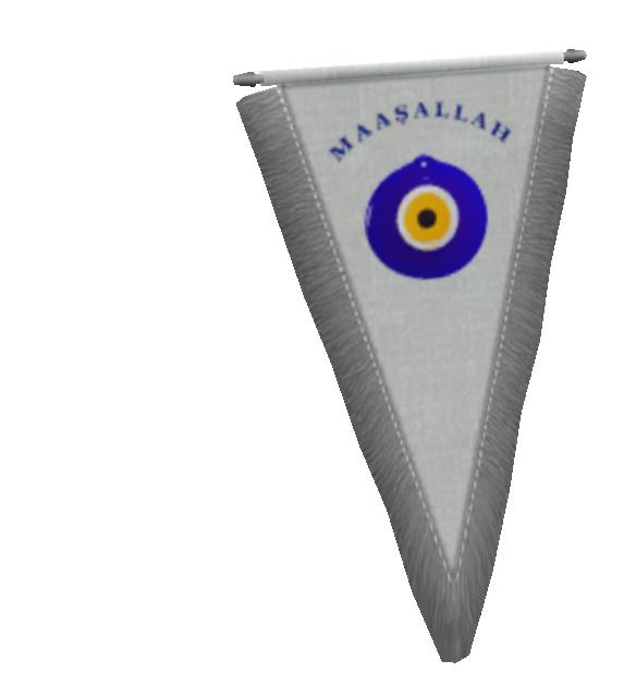 Pennant - Evil Eye (Flama - Maşallah) for Euro Truck Simulator 2.
