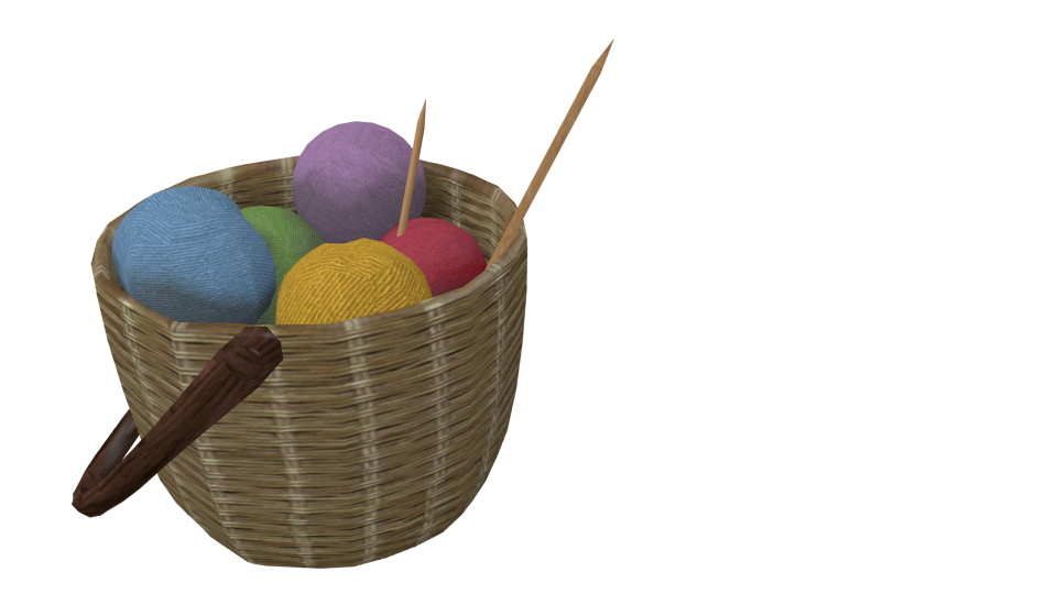 Knitting Basket (Örgü Sepeti) for Euro Truck Simulator 2.