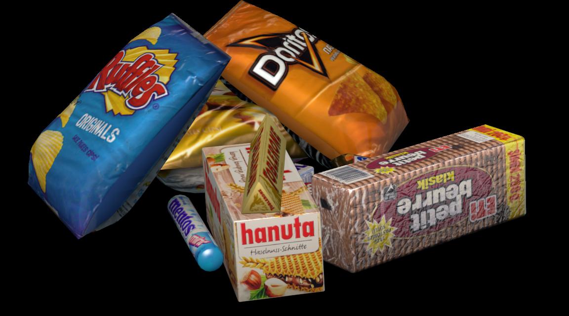 Snack Pile (Aburcubur Dağınıklığı) for Euro Truck Simulator 2.
