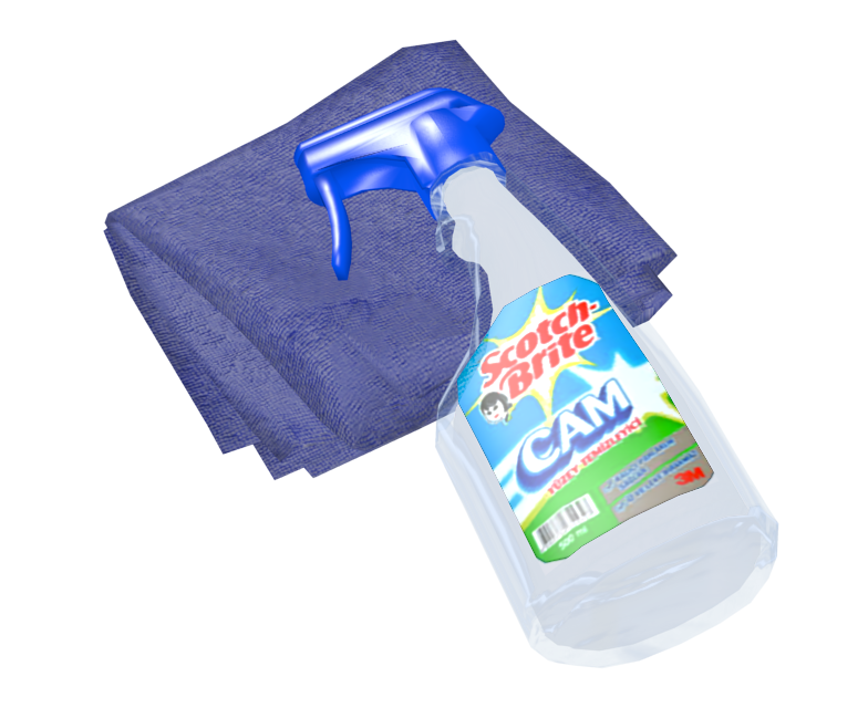 Cleaning Kit (Temizlik Seti) for Euro Truck Simulator 2.