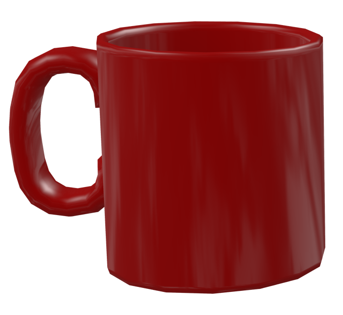 Color Mug - Red (Renkli Kupa - Kırmızı) for Euro Truck Simulator 2.