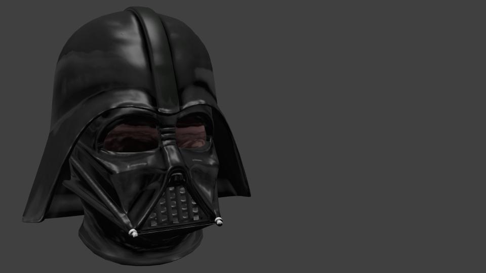 Helmet - Darth Vader for Euro Truck Simulator 2.