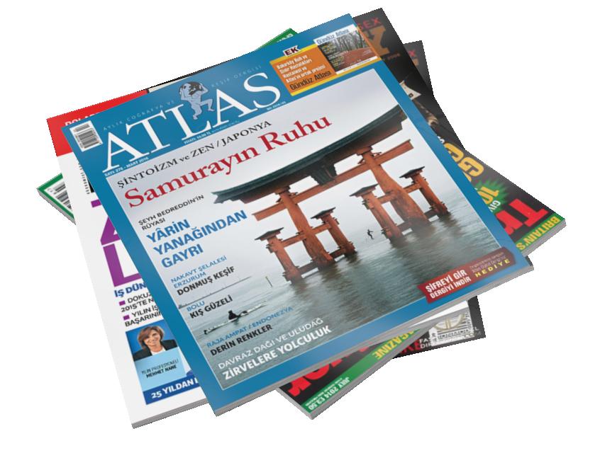 Magazines - Atlas (Dergiler - Atlas) for Euro Truck Simulator 2.