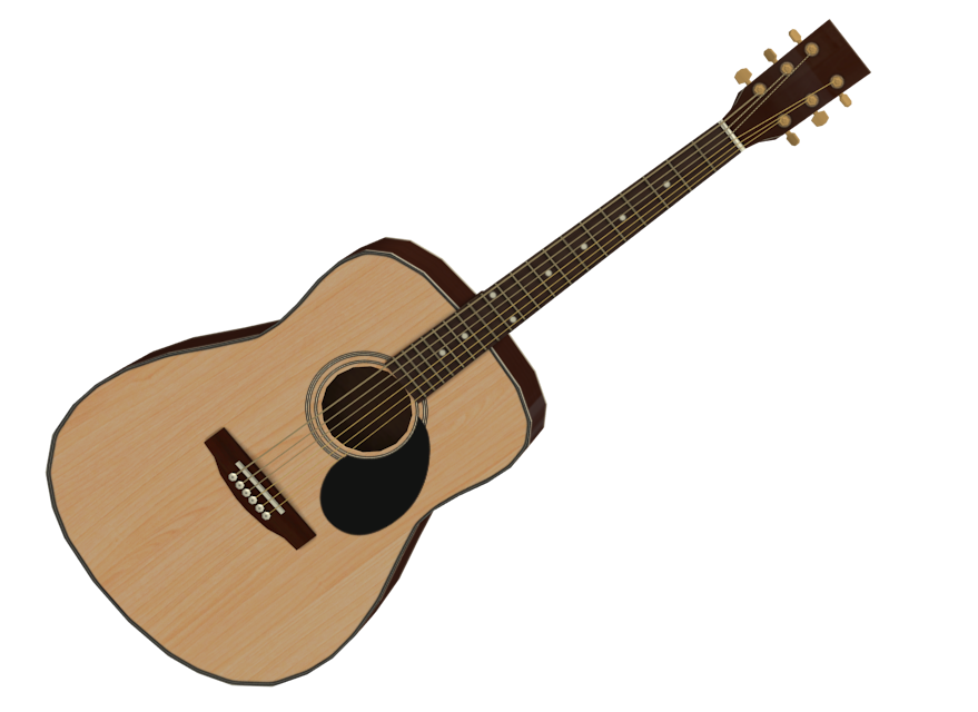 Acoustic Guitar (Akustik Gitar) for Euro Truck Simulator 2.