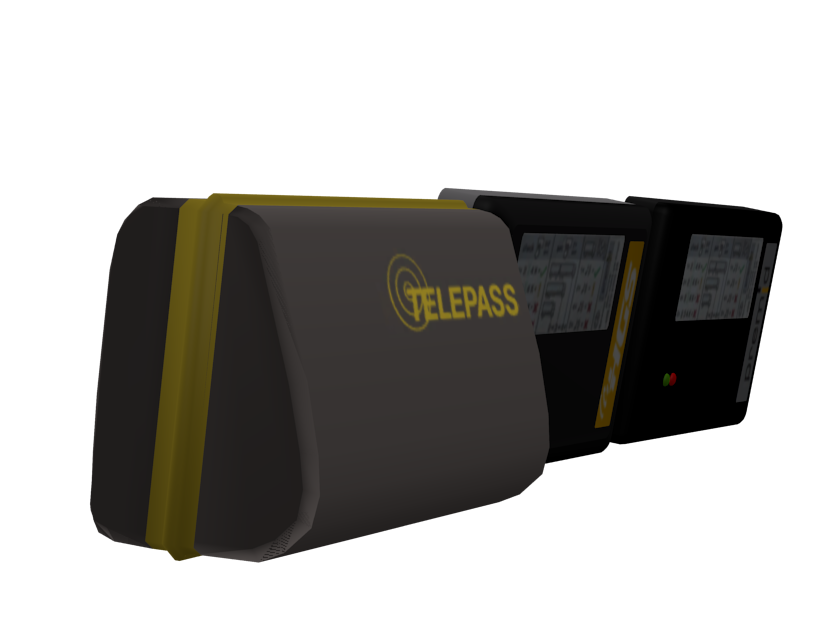 Telepass Set 1 for Euro Truck Simulator 2.