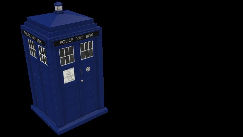 TARDIS for Euro Truck Simulator 2.