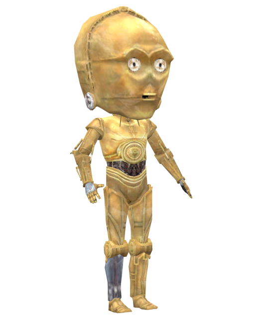 C3P0 Bobblehead for Euro Truck Simulator 2.