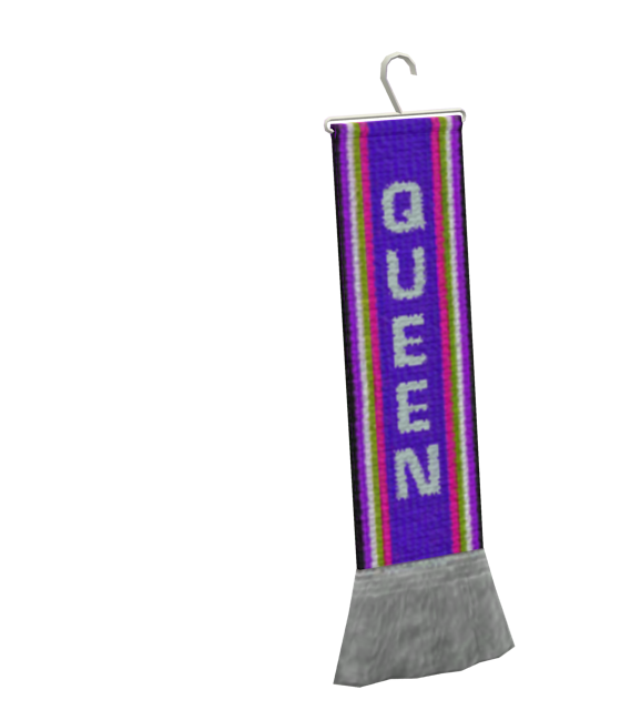 Mini Scarf - Queen (Mini Atkı - Queen) for Euro Truck Simulator 2.