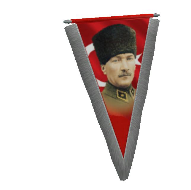 Pennant - Mustafa Kemal (Flama - Mustafa Kemal) for Euro Truck Simulator 2.