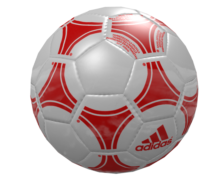Knob: Football - Red White (Knob: Football - Kırmızı White) for Euro Truck Simulator 2.