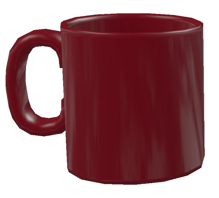 Color Mug - Claret (Renkli Kupa - Bordo) for Euro Truck Simulator 2.