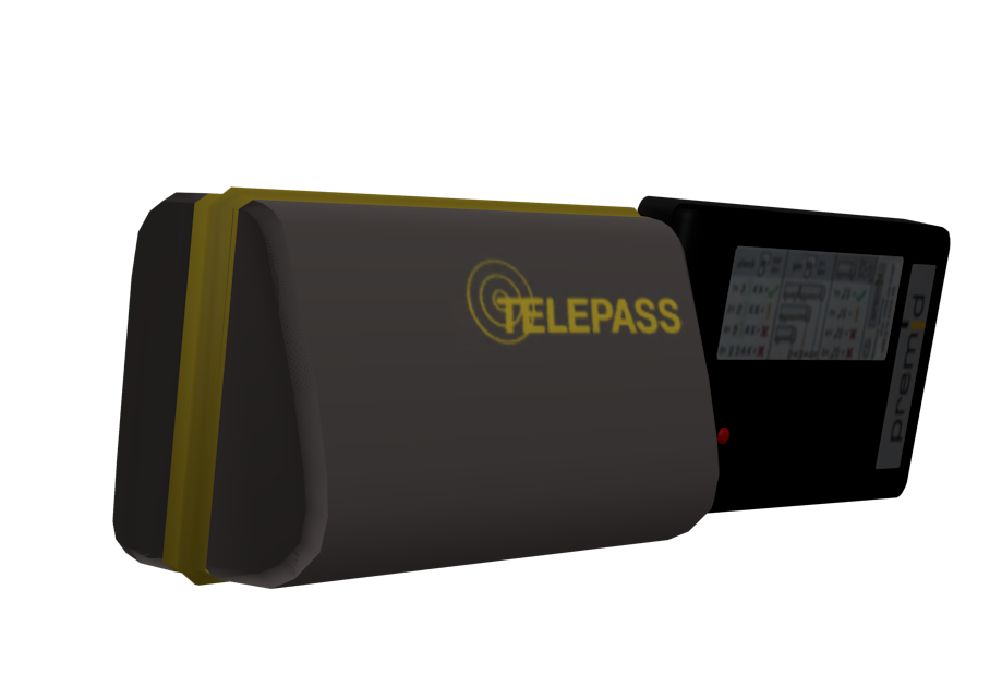 Telepass Set 2 for Euro Truck Simulator 2.