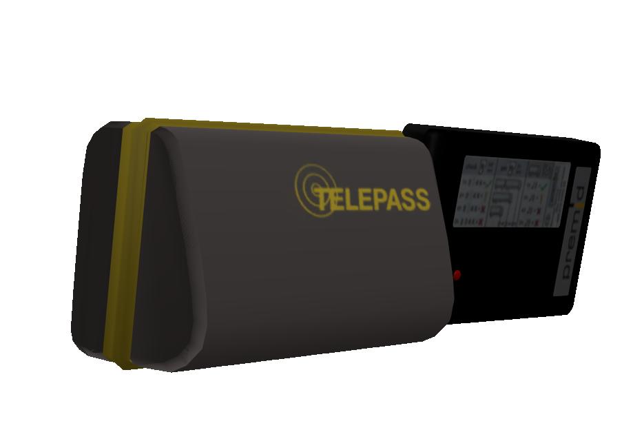 Telepass Set 2 for Euro Truck Simulator 2.
