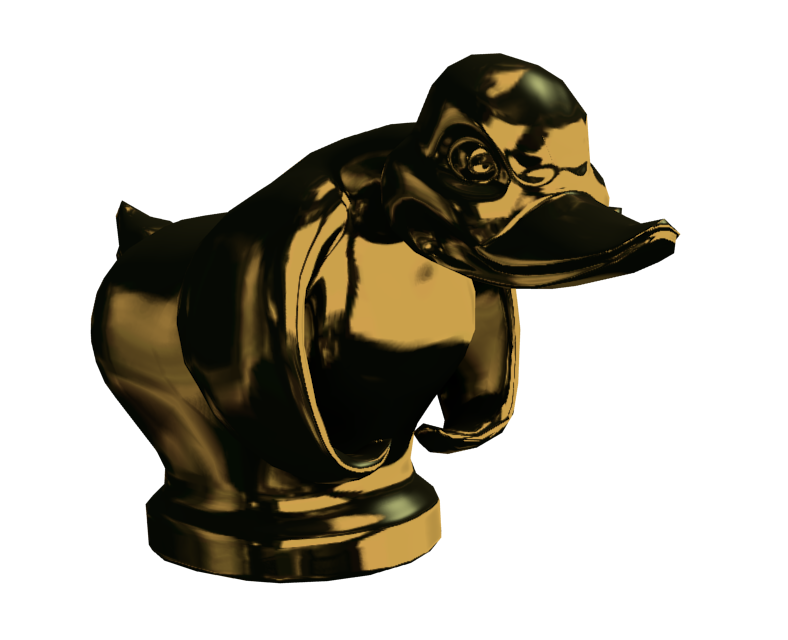 Death Proof Duck (Gold) for Euro Truck Simulator 2.