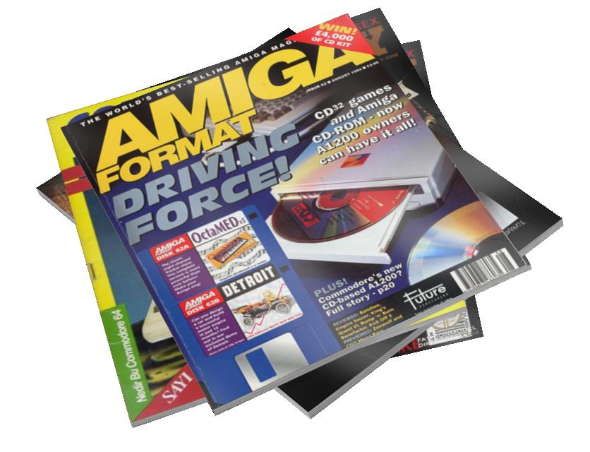 Magazines - Amiga Format (Dergiler - Amiga Format) for Euro Truck Simulator 2.
