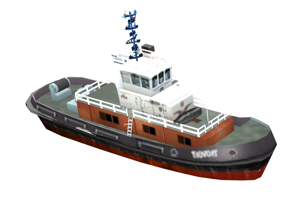 Tugboat for Euro Truck Simulator 2.