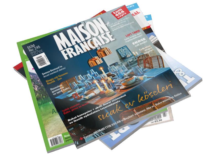 Magazines - Maison Française (Dergiler - Maison Française) for Euro Truck Simulator 2.