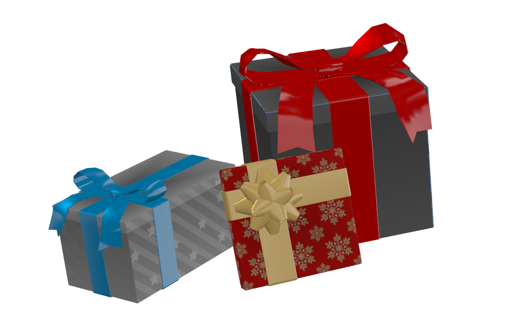 X-mas Presents 1 for Euro Truck Simulator 2.