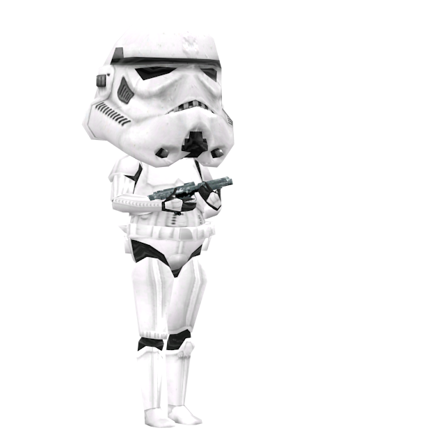 Stormtrooper Bobblehead for Euro Truck Simulator 2.