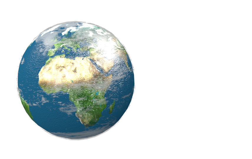 Planet Earth (Dünya) for Euro Truck Simulator 2.