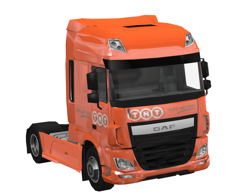 DAF XF Euro 6 Toy for Euro Truck Simulator 2.