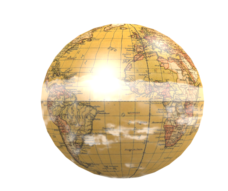 Knob: Globe Compass (Knob: Dünya Compass) for Euro Truck Simulator 2.