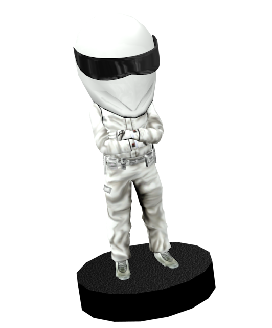 Stig Bobblehead for Euro Truck Simulator 2.