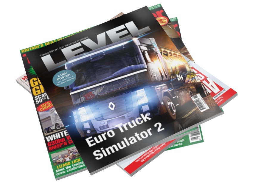 Magazines - LEVEL (Dergiler - LEVEL) for Euro Truck Simulator 2.