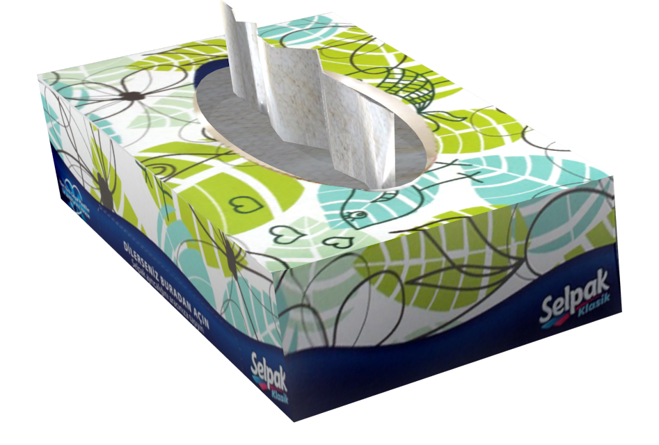 Tissue Box (Kutu Mendil) for Euro Truck Simulator 2.