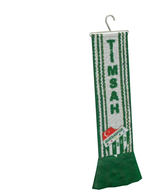 Mini Scarf - Bursaspor (Mini Atkı - Bursaspor) for Euro Truck Simulator 2.
