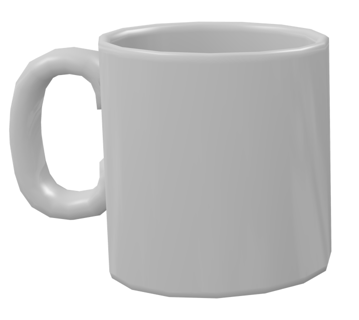 Color Mug -  White (Renkli Kupa - Beyaz) for Euro Truck Simulator 2.