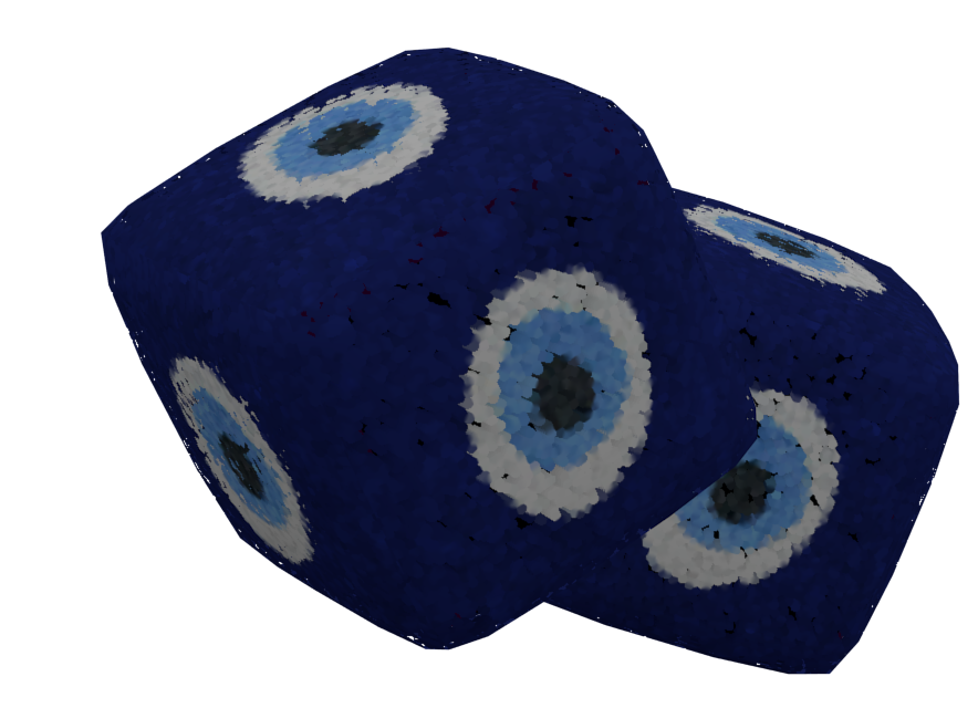 Double Dices - Evil Eye (Double Dices - Nazar) for Euro Truck Simulator 2.