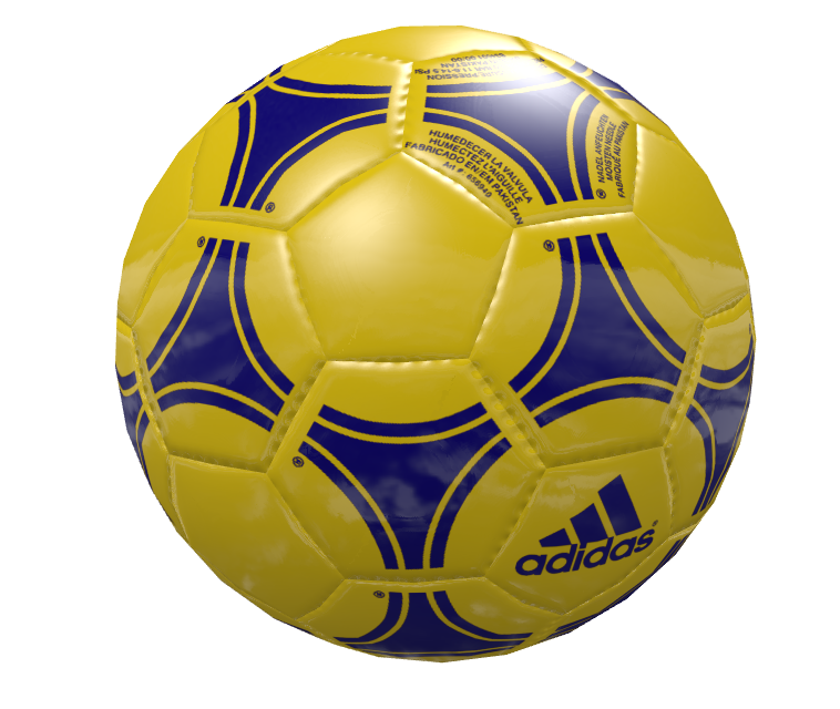 Knob: Football - Yellow Navy (Knob: Football - Yellow Lacivert) for Euro Truck Simulator 2.