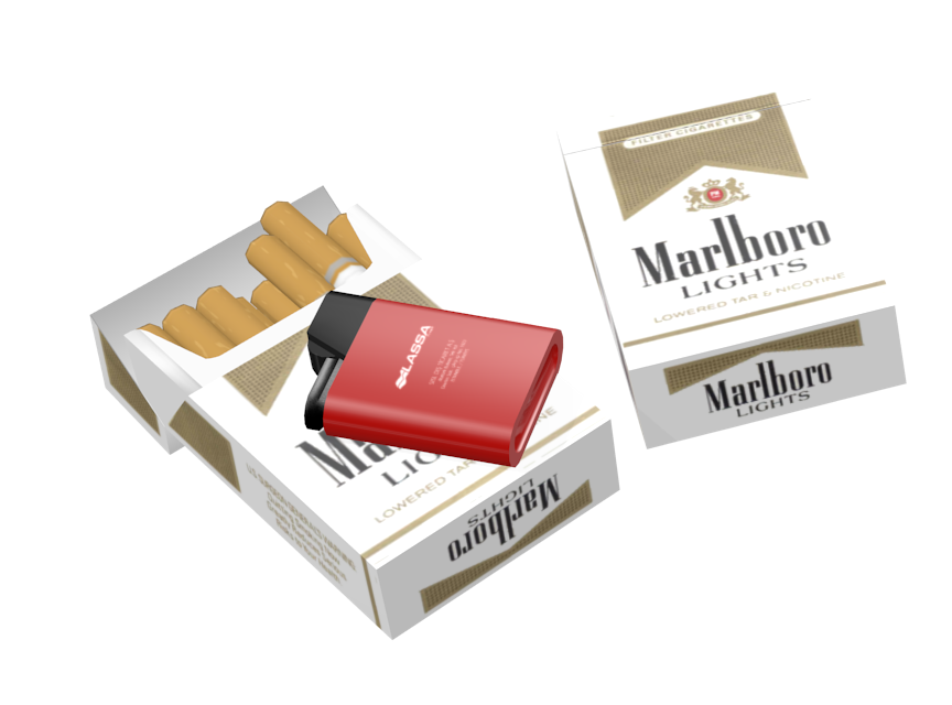 Cigarette - Marlboro Lights (Sigara - Marlboro Lights) for Euro Truck Simulator 2.
