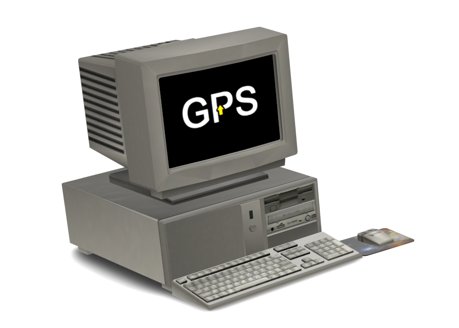 Retro Computer Toy (GPS) for Euro Truck Simulator 2.